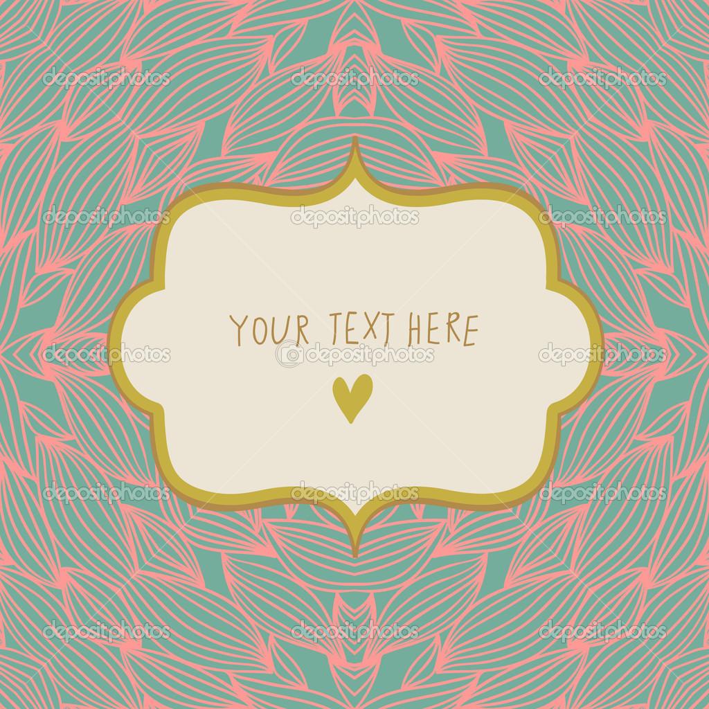 Carto simples elegante com textbox convite de casamento romntico carto simples elegante com textbox convite de casamento romntico em vetor vetores de stock stopboris Images