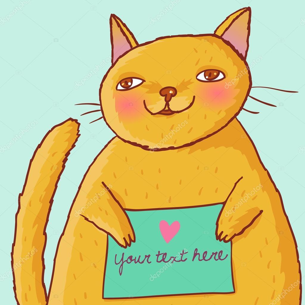 Мультфильм про кота оранжевого