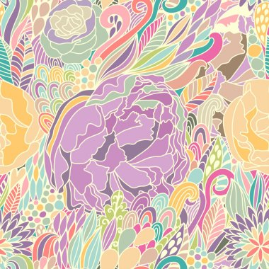 Absolutely gorgeous floral seamless pattern
