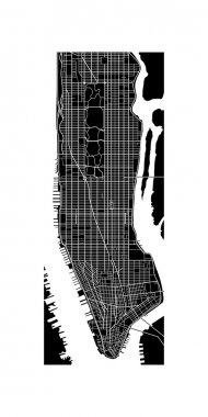 manhattan map