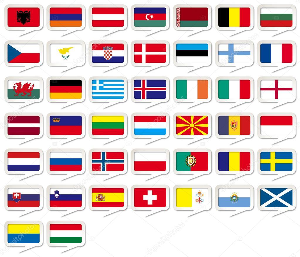всей флаги всех европейских государств в картинках хочу показать какие