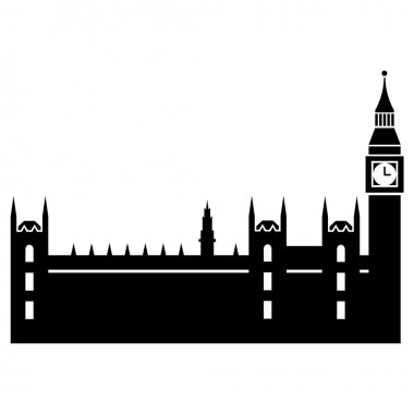 Vector illustration of Parliaments House of London
