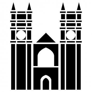 Vector illustration of Westminster Abbey of London