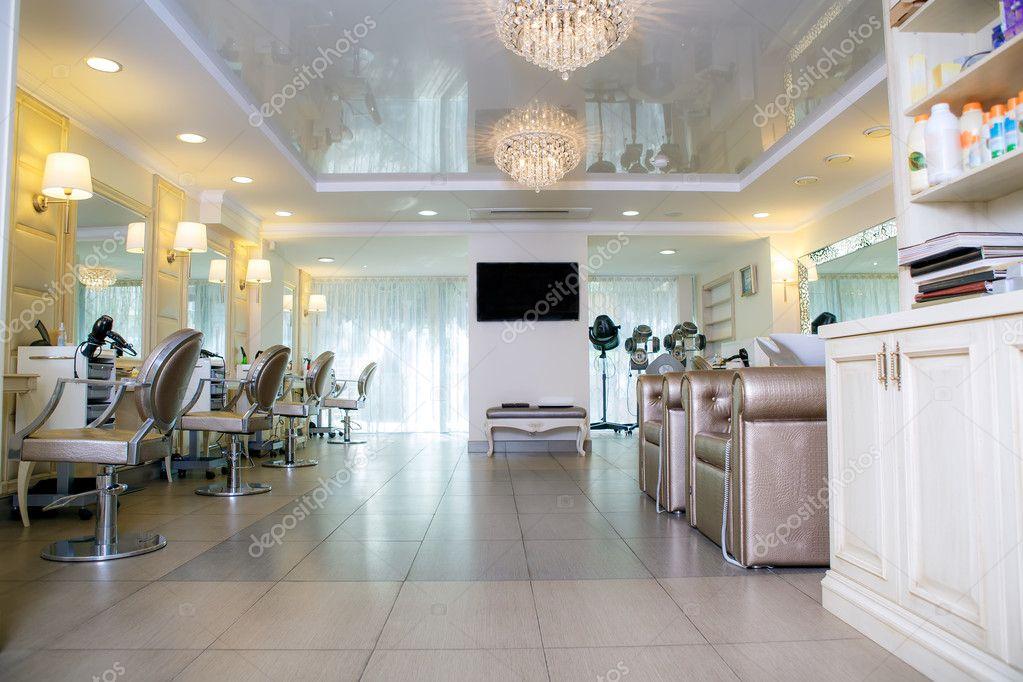 Vide de salon de coiffure photographie hannanes 26699713 for Salon tchat