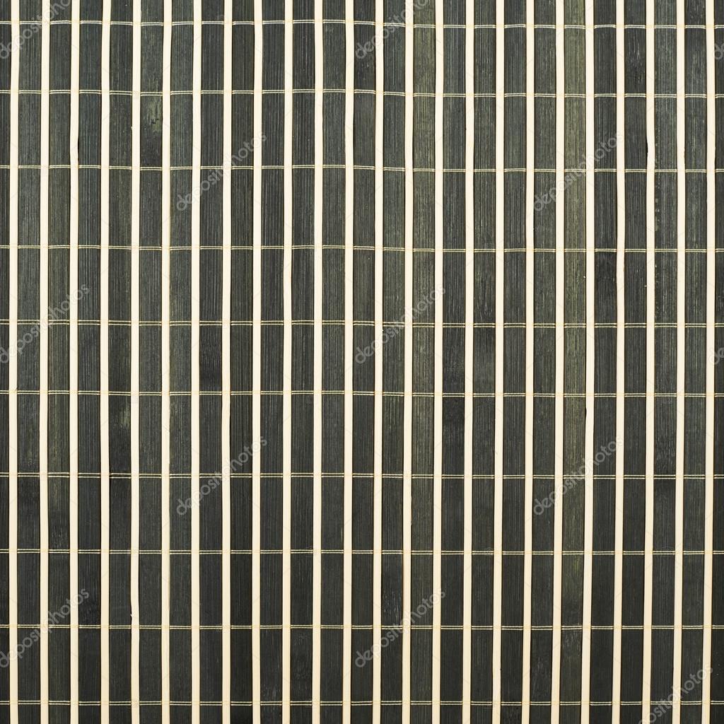 trendy natte de paille de bambou noir comme composition de fond texture abstraite vue de dessus. Black Bedroom Furniture Sets. Home Design Ideas