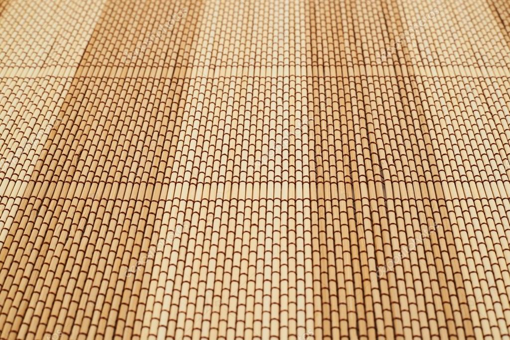 Well-known esteira de bambu fundo palha — Fotografias de Stock © exopixel  BA49