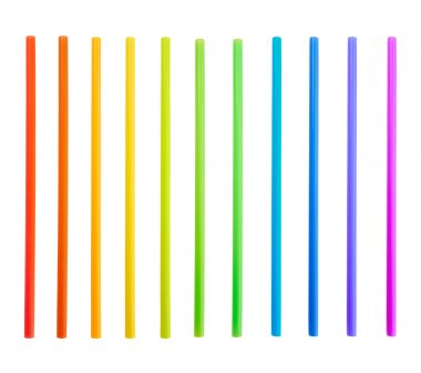 Drinking straw tube