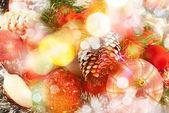Fotografie slavnostní vánoční pozadí
