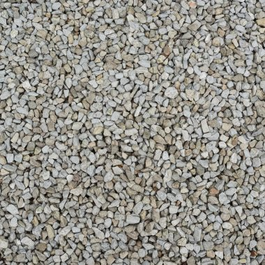 Gravel covered surface