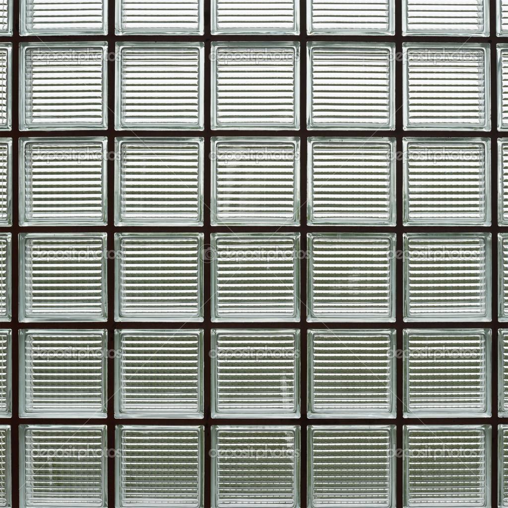 fragment de mur de brique verre — Photographie exopixel © #29982081