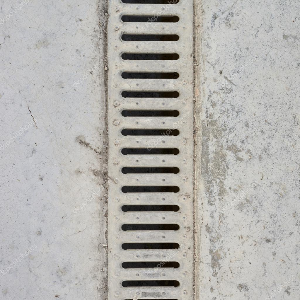 Drain Grate In Concrete Floor Stock Photo 169 Exopixel