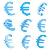 znak měny euro vykreslení