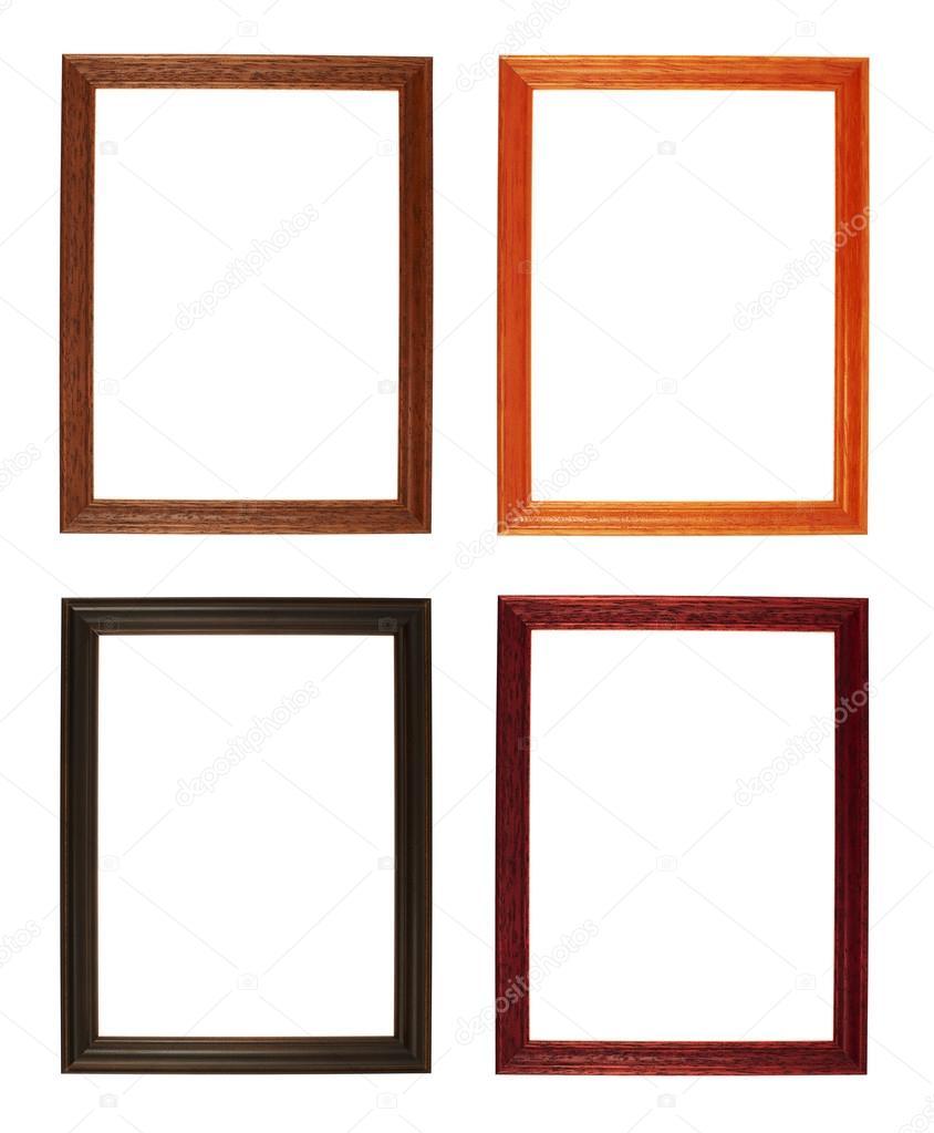 marco de fotos de tamaño A4 aislado — Fotos de Stock © exopixel ...