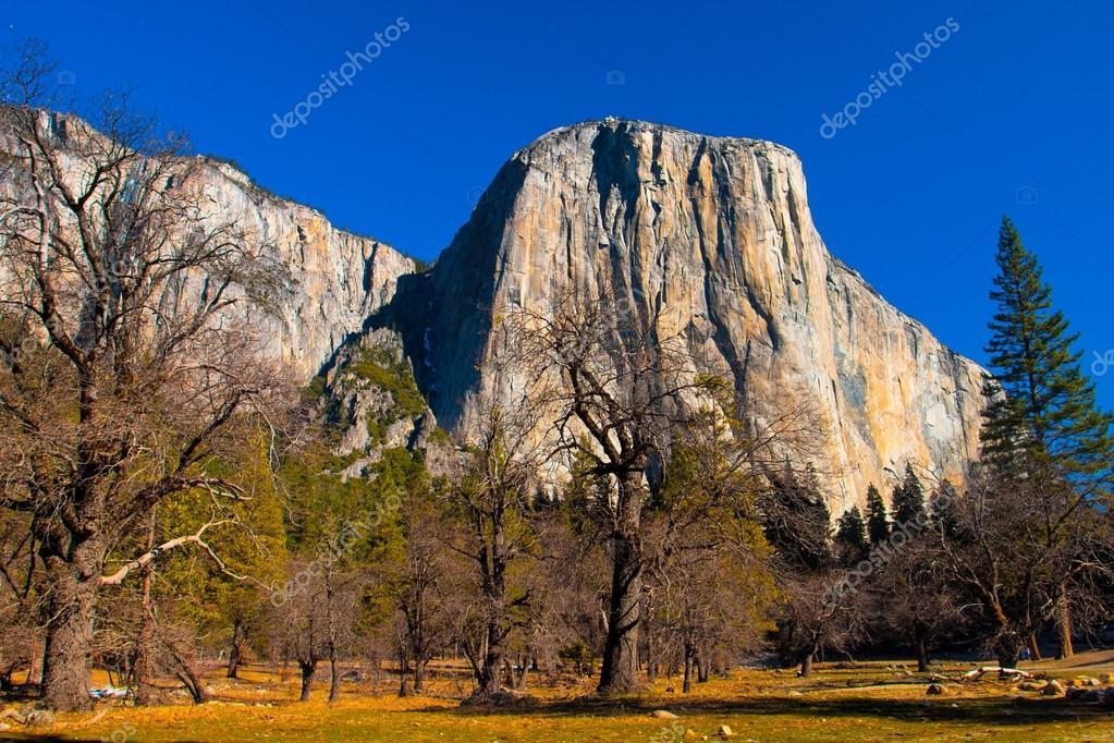El Captain Rock in Yosemite National Park,California