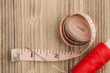 Thread coil and measure