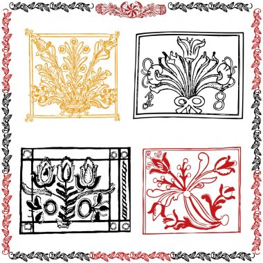 Traditional motif collection