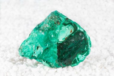 Malachite specimen with drusy microcrystals