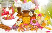 přírodní medicíny a aromaterapii zátiší