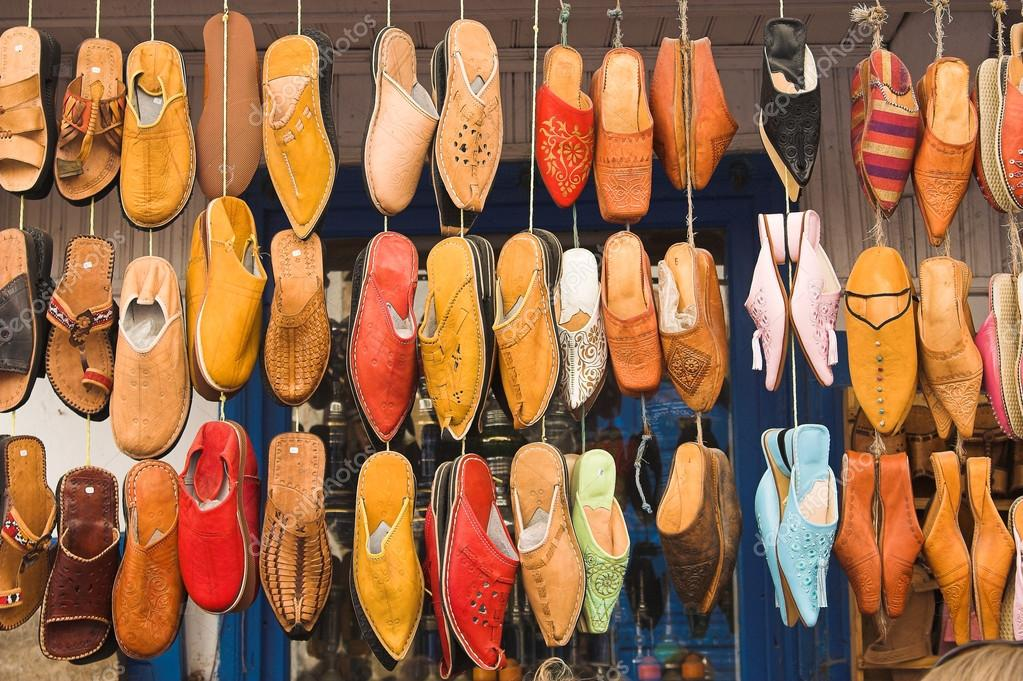 a55d9826aa4 Moroccan shoes — Stock Photo © oddech  25508843