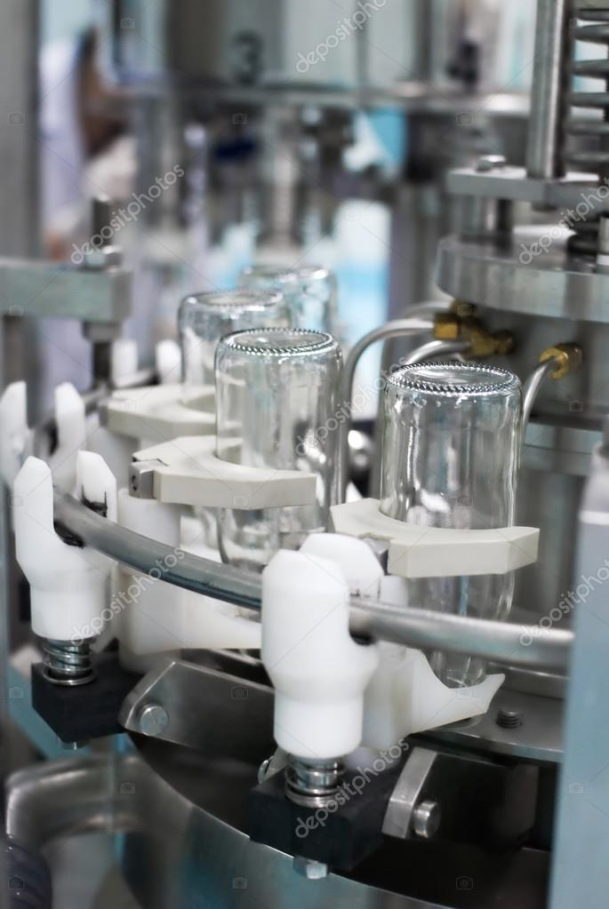 Automated Bottling plant