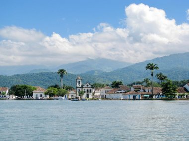 Beautiful town of Paraty, one of the oldest colonial towns in Br