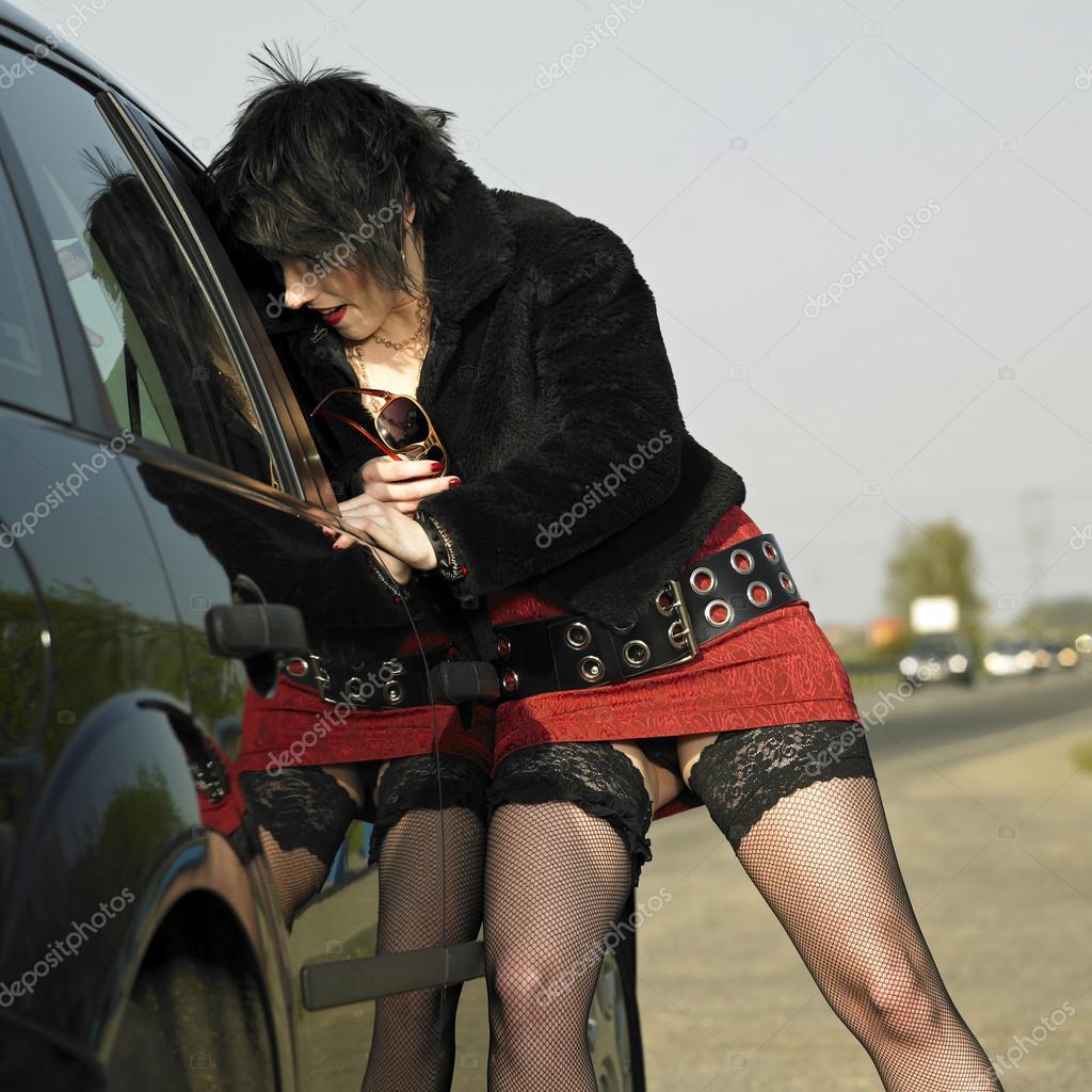 фото с изображением проституток на дороге