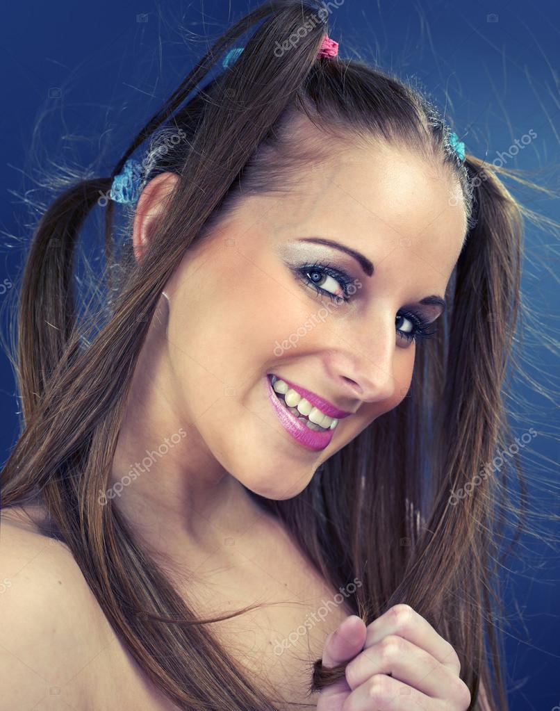 schönes Mädchen Foto