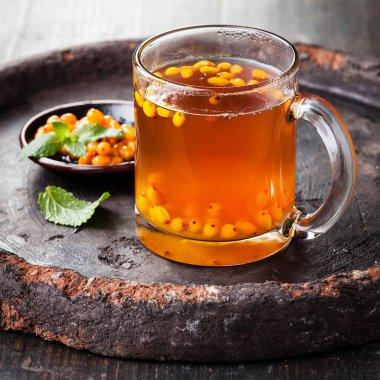 Tea with sea buckthorn