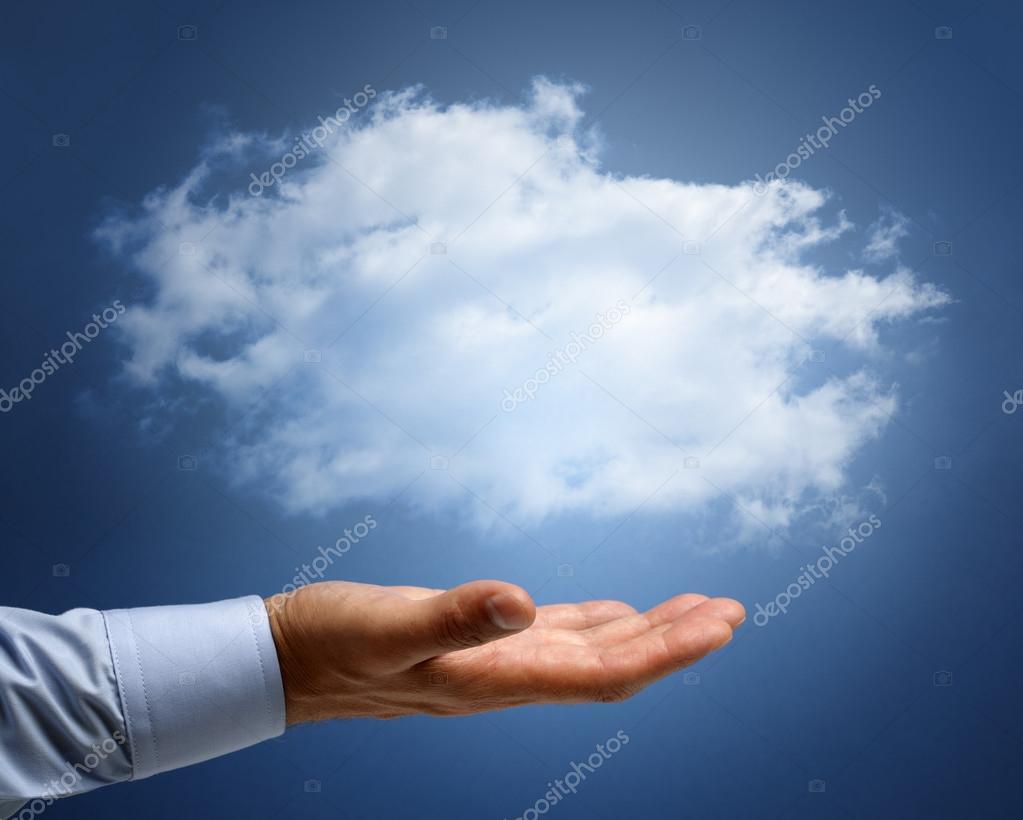 Cloud computing or dreams and aspirations concept