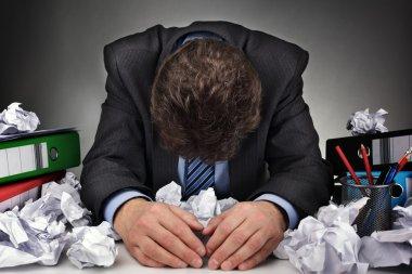Overworked or writers block