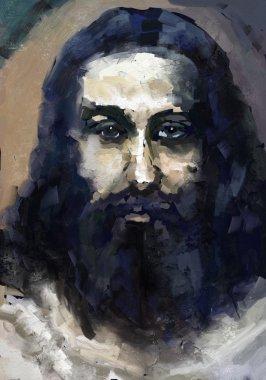 """Картина, постер, плакат, фотообои """"Иисус Христос"""", артикул 28679491"""