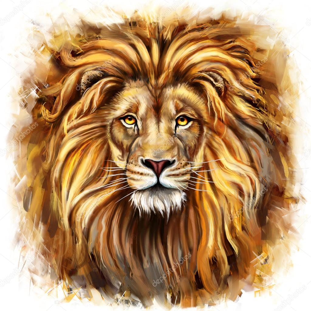 King Lion Aslan Stock Photo C Modera761101 36675441