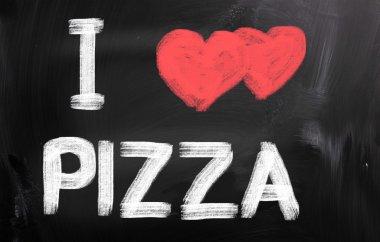 I Love Pizza Concept