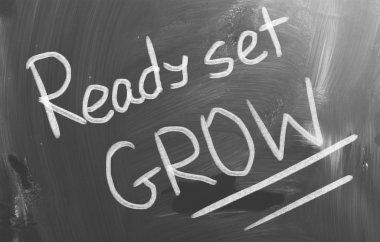 Ready Set Grow Concept