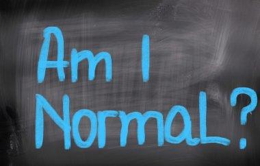 Am I Normal Concept