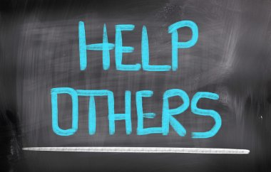 Help Others Concept
