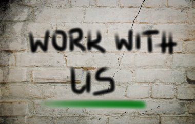Work With Us Concept