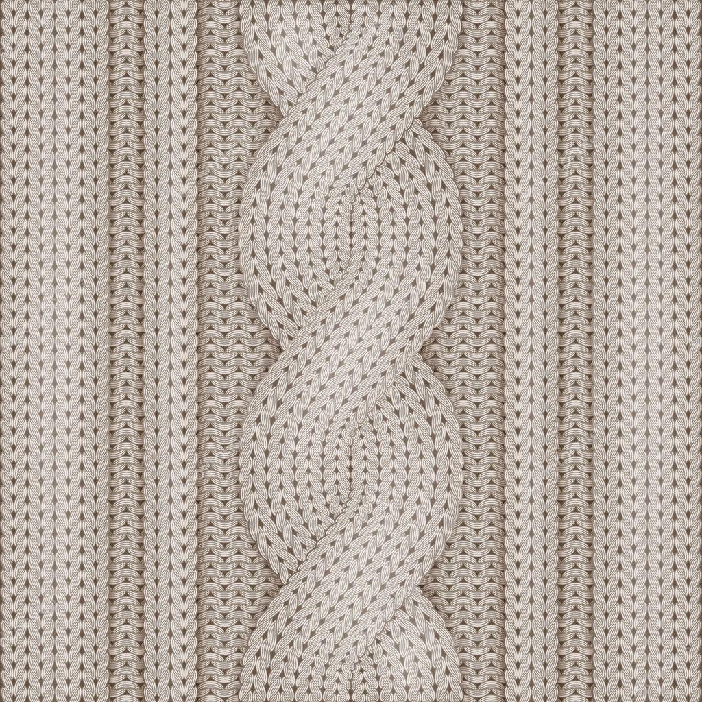 Knitted woolen texture