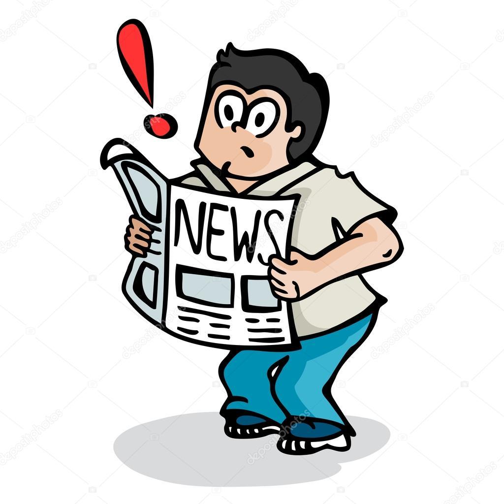 Resultado de imagem para jornal dá nojo ilustração