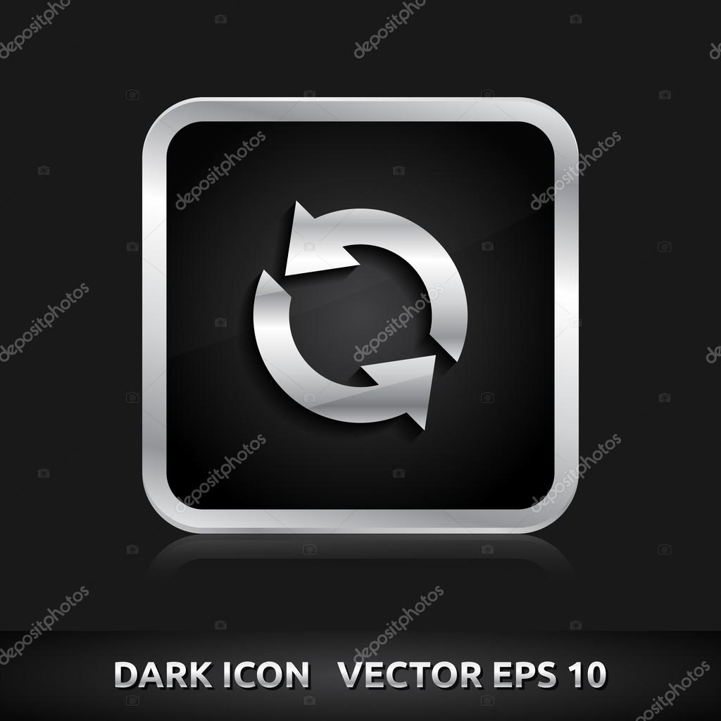 Update realod icon silver metal