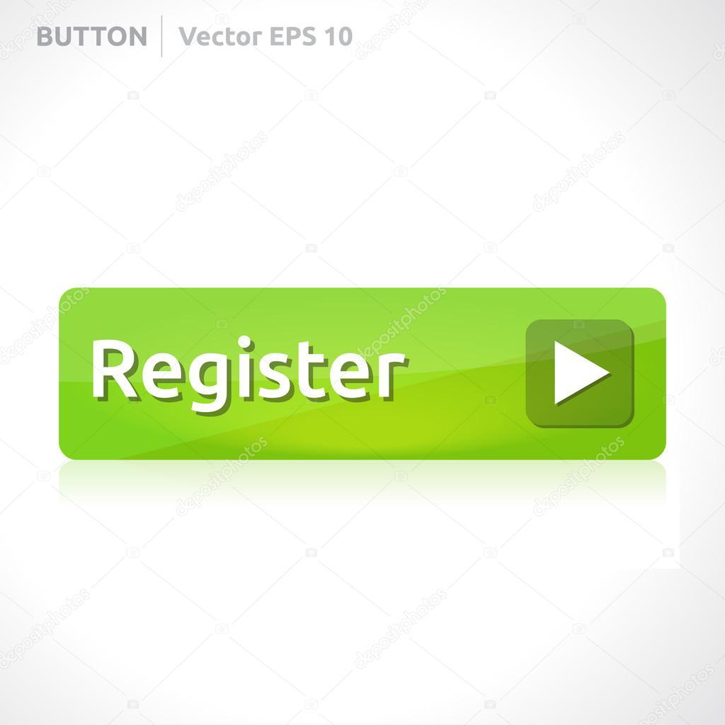registrar botón plantilla — Archivo Imágenes Vectoriales © Betavid ...