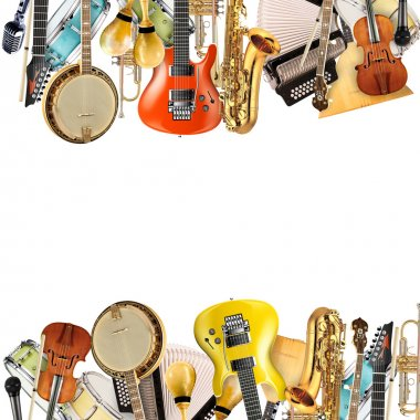 Musical instruments, orchestra