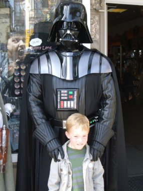 Child and Star Wars