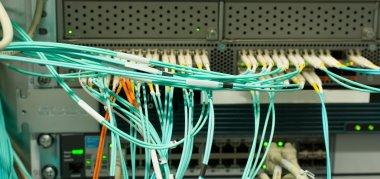 Network Switch optical fiber LWL