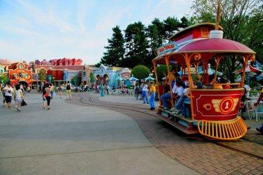 Tokyo Disneyland in Toontown rock tram