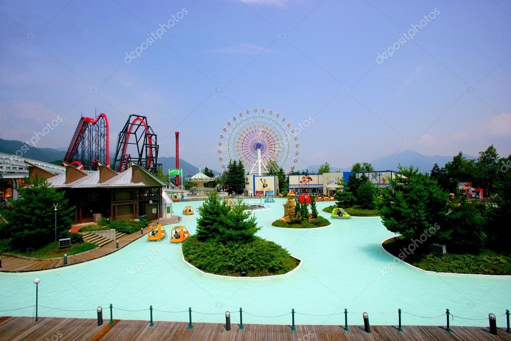 Japan's Fuji-Q Highland amusement park famous water playground
