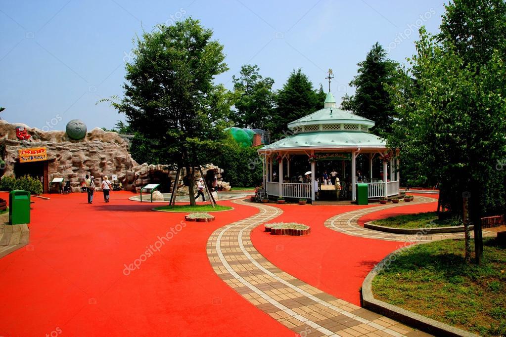 Japan's Fuji-Q Highland amusement park famous little scene