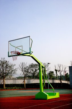 Bishan County North Elementary School basketball court