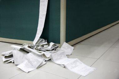 CMA Logistics Office machine-printed documents