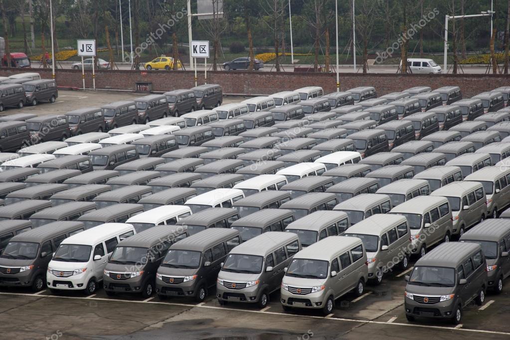 Chongqing Jiangbei District parking lot parked